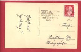 N°Y&T  710B OU 712  HEIDELBERG        Le      1944  2 SCANS - Briefe U. Dokumente