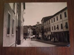 Roccastrada  Via Nazionale  - Cartolina Viaggiata 1957 - Grosseto