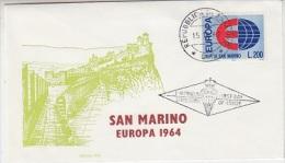 Europa Cept 1964 San Marino 1v FDC F2014) - 1964