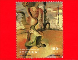 PORTOGALLO - USATO - 1999 - 50 Anni Di Surrealismo In Portogallo - Vitor Santos - 100 - 0.50 - Usati
