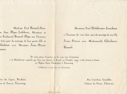 Delahoutre Loucheur Ghislaine Bonnel Chateau Lapointe Libourne - Wedding