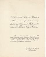 Baron Bonaert Lucie Le Fêvre De Vivry De Chaves - Wedding