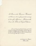 Baron Bonaert Lucie Le Fevre De Vivry De Chaves - Wedding