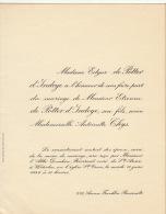 Antoinette Thys Etienne De Potter D´indoye - Wedding