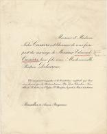 Delacroix Hoorickx Edmond Cassiers - Wedding