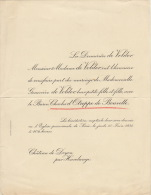 Geneviève Devolder Baron Charles D'otreppe De Bouvette Chateau De Doyon Havelange - Wedding