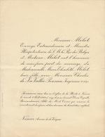 Elisabeth Mélot Charles De La Vallée Poussin - Wedding