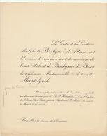 Antoinette Merghelynck Comte Richard De Borchgrave D´altena - Wedding