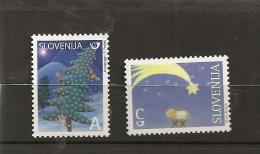 Slovenia  2008,mi No  694-5,CHRISTMAS,NEW YEAR, MNH - Slovénie