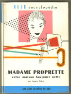 """Livre Ancien 1958 """"Madame Propette"""" Par Annie Fabre - Decorazione Di Interni"""