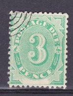 AUSTRALIA 1902 3d POSTAGE DUE USED - Portomarken