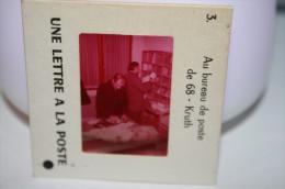68 - KRUTH - Au Bureau De Poste De KRUTH (Mr Cintrat Receveur Et Mr Arnold Trient Le Courrier) - Diapositives