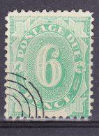 AUSTRALIA 1902 6d POSTAGE DUE USED - Portomarken