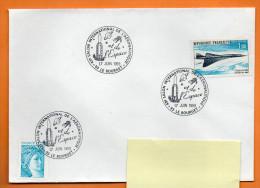 93 LE BOURGET  43° SALON AERONAUTIQUE       1999   Lettre Entière N° R 718 - Covers & Documents