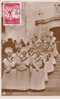 RP: Young Girls Leaving Church  , MEZOKOVESD , Hungary , 1933 - Hongrie