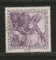 AUSTRIA, 1976, Cancelled Stamp(s), St Wolfgang, MI Nr. 1515, #4120 - 1945-.... 2nd Republic
