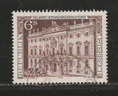 AUSTRIA, 1976, Cancelled Stamp(s), Gerichtshof, MI Nr. 1521, #4122 - 1945-.... 2nd Republic