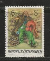 AUSTRIA, 1976, Cancelled Stamp(s), Modern Art, MI Nr. 1537, #4125 - 1945-.... 2nd Republic