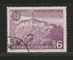 AUSTRIA, 1978, Cancelled Stamp(s), Europa, MI Nr. 1573, #4135 - 1945-.... 2nd Republic