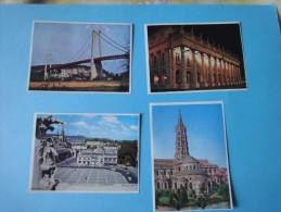 """Lot De 4 Images  """"Chocolat Poulain"""" Série 16 - Poulain"""