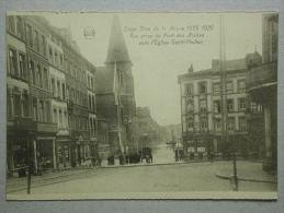 Liège Crue De La Meuse 1925-1926, Vue Prise Du Pont Des Arches Vers L'Eglise Saint Pholien - Liège
