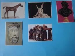 """Lot De 5 Images  """"Chocolat Poulain"""" Série 22 - Poulain"""