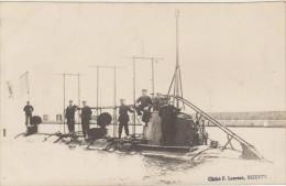 BIZERTE-Sous-Marin FARFADET-CARTE PHOTO-Le Sous-Marin Et Son Equipage... - Submarinos