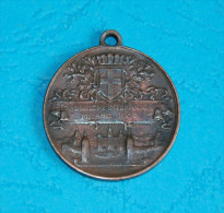 Medaglia Esposizione Internationale Milano 1906 - Inaugaratione Del Sempione, 2,5 Cm. Diameter - Italia