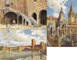 3 CART. VERONA DISEGNATE - Verona
