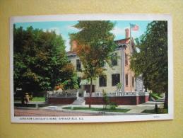 La Maison D'Abraham Lincoln. - Springfield – Illinois