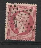 Fr  Pub Prix Fixe   YT N° 24  Oblitere Etoile De Paris   N° 4 - 1862 Napoleon III