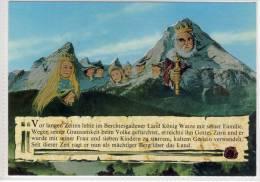 BERCHTESGADEN -  König Watze, Gesichter In Stein, Faces In The Mountains, Visage Dans La Montagne - Contes, Fables & Légendes