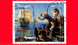 Portogallo - 1996 - Mostra Filatelica ´Portugal ´98´ - Vasco De Gama - 78 - Usati
