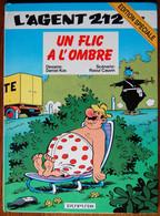 BD L'AGENT 212 - 7 - Un Flic à L'ombre - Rééd. 1995 Edition Spéciale - Agent 212, L'