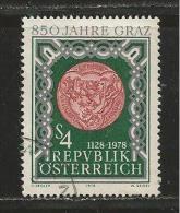 AUSTRIA, 1978, Cancelled Stamp(s), Graz, MI Nr. 1583, #4137 - 1945-.... 2nd Republic