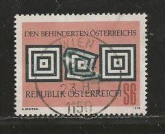 AUSTRIA, 1978, Cancelled Stamp(s), Symbolik, MI Nr. 1585, #4139 - 1945-.... 2nd Republic