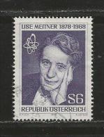 AUSTRIA, 1978, Cancelled Stamp(s), Von Meitner, MI Nr. 1588, #4141 - 1945-.... 2nd Republic