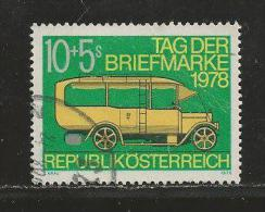 AUSTRIA, 1978, Cancelled Stamp(s), Day Of The Stamps, MI Nr. 1592, #4143 - 1945-.... 2nd Republic
