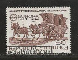 AUSTRIA, 1982, Cancelled Stamp(s), Europa,  MI Nr. 1713, #4157 - 1945-.... 2nd Republic