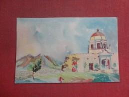 Mexico  Monterrey  Church of the Obispado stamp & Cancel  ref 1512