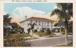 Buster Keaton Home Los Angeles California