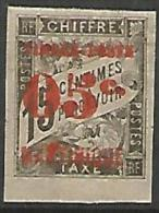 MARTINIQUE YVERT   N° 24 VARIETEE R DE MARTINIQUE DEFORME NEUF* TB Signé CALVES   3  SCANS RR - Unused Stamps