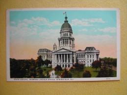 Le Capitole. - Springfield – Illinois