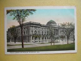 La Bibliothèque Et Le Musée. - Milwaukee
