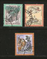 AUSTRIA, Various Years, Cancelled Stamp(s), 3 Stamps Religion  , #4167 - 1945-.... 2nd Republic