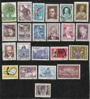 AUSTRIA, Various Years, Cancelled Stamp(s), 200 Stamps Different Commemoratives  , #4376-4393 - 1945-.... 2nd Republic