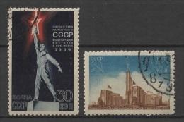 (O) Russia - USSR (1939) Yv. 709/10 - 1923-1991 URSS