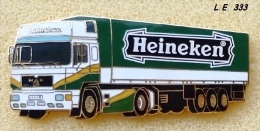 Heineken Truck MAN, Vintage Pin very good Quality, L.E. 333