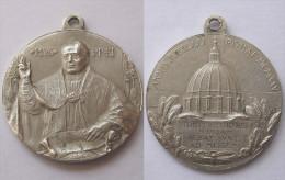 MEDAGLIA PIO XI - ANNO GIUBILARE 1925 - Religione & Esoterismo
