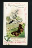 Chocolaterie Aiguebelle - Papillons - Lépidoptères - Coquette - Ecaille Brune - 10 091 - Aiguebelle